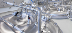 Stainless Steel Tank Reactor – 3 T With Homogenization And Temperature Control Systems