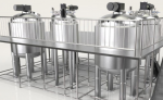 Stainless Steel Tank Reactor – 4 T With Homogenization And Temperature Control Systems