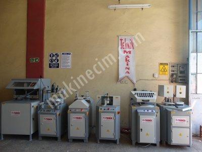 Satılık İkinci El Ful Otomatik Tam Takım Pvc İşleme Makinaları Teknik Makinadan Fiyatları Gaziantep PVC MAKİNALARI PVC İŞLEME MAKİNALARI PVC DOĞRAMA MAKİNALARI TEKNİK MAKİNA BURSA PVC MAKİNALARI