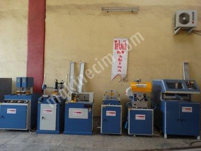 Satılık 2. El Özgenç Marka Tam Takım Pvc Doğrama Makinaları Fiyatları İstanbul PVC MAKİNALARI PVC İŞLEME MAKİNALARI PVC DOĞRAMA MAKİNALARI TEKNİK MAKİNA BURSA PVC MAKİNALARI