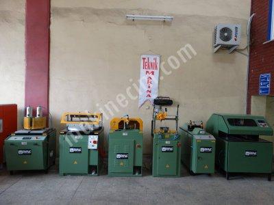Satılık 2. El Murat Marka Tam Takım Pvc Ve Alüminyum İşleme Makinaları Teknik Makinadan Fiyatları  PVC MAKİNALARI PVC İŞLEME MAKİNALARI PVC DOĞRAMA MAKİNALARI TEKNİK MAKİNA BURSA PVC MAKİNALARI