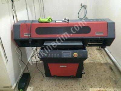 60X90 Çift Epson Dx5 Kafa Uv Baskı Makinesi