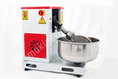 10-15 Kg Hamur Yoğurma Makinesi Devirmeli Seyyar Kazanlı