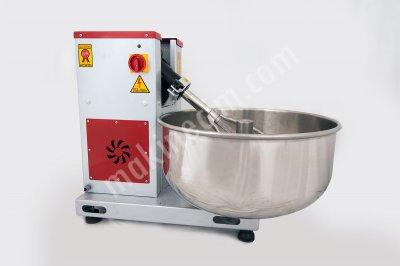 35 - 50 Kg Hamur Yoğurma Karma Makinesi Devirmeli Seyyar Kazanlı