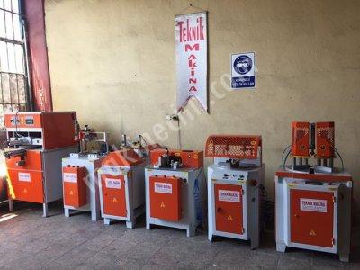 Satılık İkinci El Full Otomatik Tam Takım Pvc Makinaları Fiyatları Gaziantep pvc makinaları pvc işleme makinaları pvc doğrama makinaları teknik makina bursa pvc makinaları