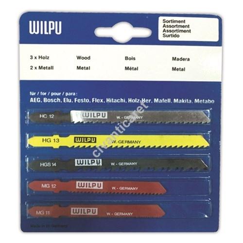 Satılık Sıfır WILPU Dekupaj Testere Seti 5'li 3 Ağaç 2 Metal WIL-01 Fiyatları