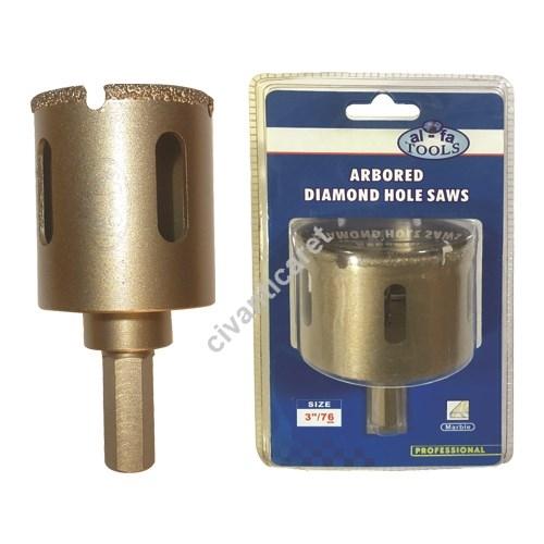 Satılık Sıfır Elmas Panç Mermer-Cam AF-S2603-25 AL-FA TOOLS Fiyatları