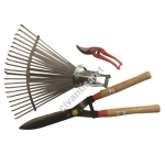 Çimen Makası + Bağ Makası + Yaprak Süpürgesi Seti Ag-5031631 Al-F