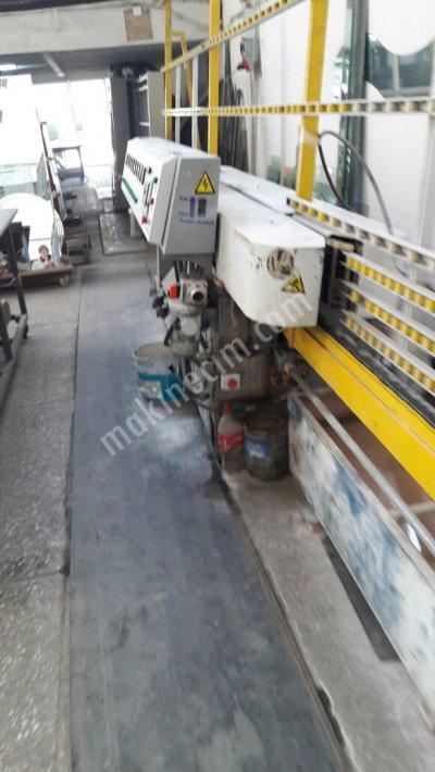 Satılık İkinci El 9 Kafa Düz Rodaj Makinası Fiyatları Eskişehir cam makina rodaj düz rodaj bizote