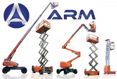 Arm Omega Serisi Personel Yükseltici - Manlift- Akülü Dizel Makaslı Platform