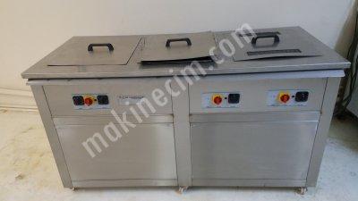 Satılık Sıfır ultrasonik yıkama makinası 3 gözlü ( ultrasonik-yıkama-kurutma ) yeni Fiyatları İstanbul ultrasonik yıkama makinası