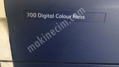 Xerox Dc 700 Digital Colour Press Baskı Makinası