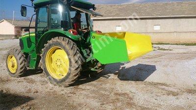Traktör Sıyırıcı Sepet 200 Cm
