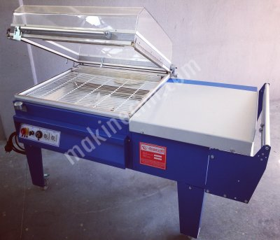 Makinenet Yarı Otomatik 60X80 Küvezli Poliolefin Pvc Shrink Ambalaj Makinesi