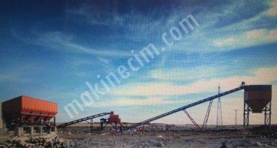 Satılık Mekanik Stabizasyon Plenti 400 Ton Saat Kapasiteli