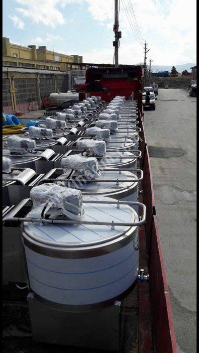 250 Kg Sut Sogutma Tankı