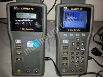 Lantek 7G Lan Kabloları Ölçüm Cihazı Cat5, Cat6