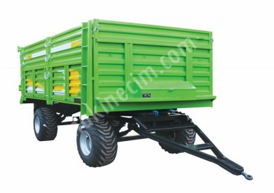 Satılık Sıfır 10 TONLUK SLAJ RÖMORKU (ÇİFT DİNGİLLİ) Fiyatları Konya tarım remorku, tarım römorku, remork, römork