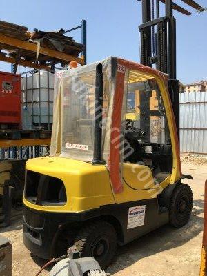 Satılık İkinci El Hyster 2011 Model 2,5 Tıon Dizel Forklift Fiyatları İstanbul forklift