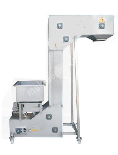 Turangil Tgtks3 Z Tipi Plastik Kovalı Ürün Taşıma Besleme Elevatörü