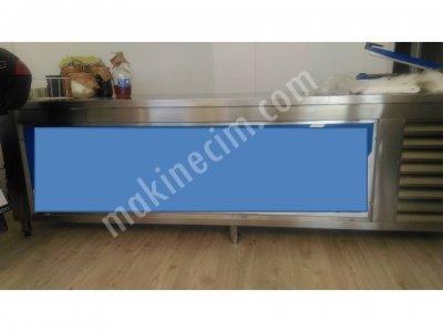 3 M Uzunluğunda Vitrinli Buzdolabı