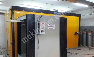 Satılık Sıfır Elektro Statik Toz Boya Fırını Fiyatları İstanbul Hasmakinakimya elektrostatik toz boya Fırın kabin Tabanca