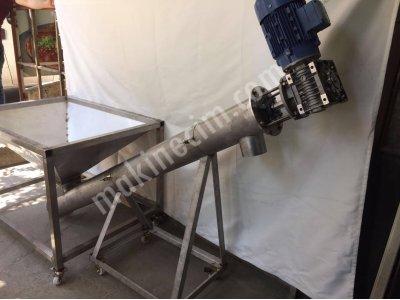 Fetih Makine Siparişe Özel Helezyon Tamamen Paslanmaz İstenilen Ölçülerde Yapılır