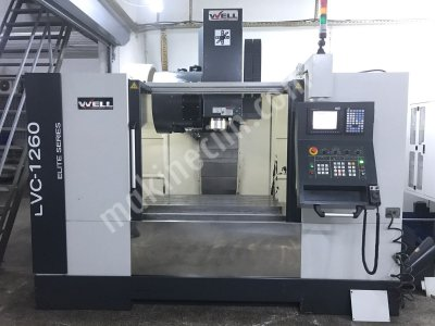 2015 Model Lvc-1260 Well Marka Cnc İşleme