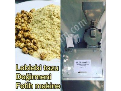 Leblebi Tozu Değirmeni - Fetih Makine 05422570793