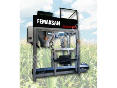 Vakumlu Mısır Sılajı & Küspe Paketleme Makinası