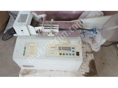 Satılık 2. El Etiket Plastik Kesme Makinası Fiyatları Mersin etiket kesme,platik kesme,şerit kesme