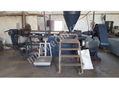 Satılık İkinci El Granül Makinası Fiyatları Mersin granül makinası,geri dönüşüm makinası,pvc makinası,hammadde eritici
