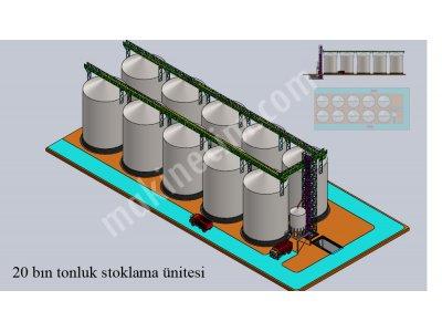 Satılık Sıfır Silo Fiyatları İzmir silo ,stoklama, depolama ,depo