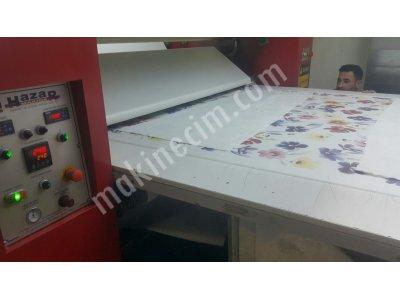 Satılık 2. El Parça Metraj Transfer Baskı Makinası Fiyatları İstanbul hazar makina ,parca baskı,metraj baskı,transfr baskı,subl,me press