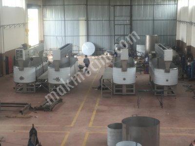 Satılık İkinci El Kaşar proses tankları Fiyatları Denizli kaşar proses tankı