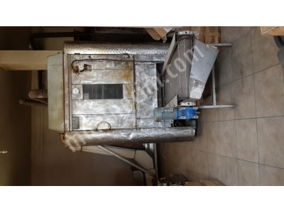 Kuruyemiş Kavurma Fırını-Elevator-Seçme Bandı -Tabak Kapatma Makinesi
