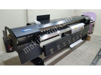 Satılık İnfiniti Marka Spektra 4 Kafa Digital Baskı Makinesi