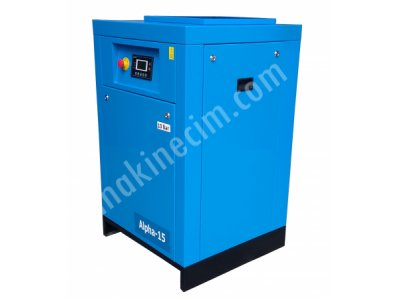 For Sale 2nd Hand Screw Air Compressor 15 Hp 11 Kw 500 Liter Air Tank