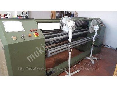 Gofraj Baskı Makinesi