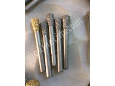 Yeni Özel Tasarım Mermer Ve Granit Vb. Kazıma Delme Ve Derz Cnc Freze Elmas Uçları