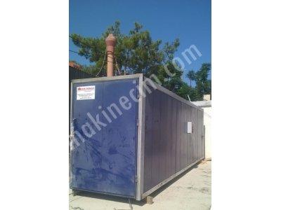 Satılık 2. El Elektro Statik Toz Boya Fırını Fiyatları İstanbul Hasmakinakimya elektrostatik toz boya
