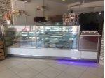 Acil Satılık Soğutmalı Isıtmalı Pastane Satış Tezgahı