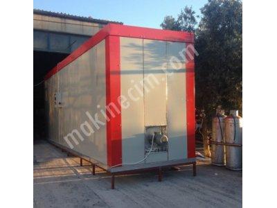 Satılık 2. El TOZ BOYA FIRINI+TABANCA KOMPLE Fiyatları İstanbul Elektrostatik Toz Boya Fırın + Tabanca
