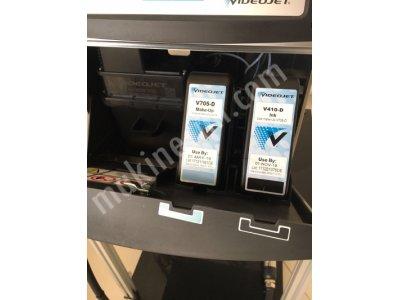 Satılık 2. El Videojet 1620 İnkjet Sıfırdan Farksız Fiyatları Konya videojet 1620 ikinciel tarih kodlama inkjet yazıcı