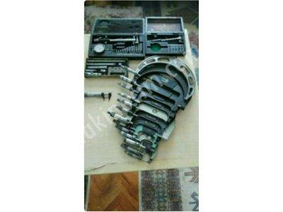 Satılık İkinci El Çap mikrometreleri ve delik kompretörü Fiyatları İstanbul mikrometre, kompretör