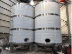 Paslanmaz Su Mazot Süt Şarap Alkol Kimyasal Depolama Tankları