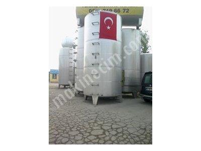 Satılık Sıfır Paslanmaz Depo Krom Çelik Ürün Depolama Tankları Fiyatları İzmir paslanmaz tank,paslanmaz kazan,paslanmaz su deposu,krom su deposu,depo,tank ,mikser,su tankı,yag tankı,sıvı dolum makinası,makina,makine,süt,bal,sirke,un,alkol,sarap,glikoz tankı