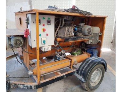 Satılık İkinci El Sahininden Hafif Şap Ve Beton Pompa Makinesi Fiyatları Antalya ŞAP MAKİNESİ
