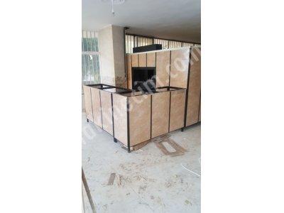 Doğal Gazlı Odunlu Taş Fırın İmalatı Tekerlekli 250X300