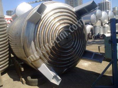Satılık Sıfır Paslanmaz Çelik KİMYASAL REAKTÖRLER 2. EL VE SIFIR IMALAT Fiyatları İstanbul toz karıştırıcı,paslanmaz reaktör,paslanmaz karıstırıcı,paslanmaz reaktörler,kimyasal reaktör,kimyaigıda,cam,plastik makine,